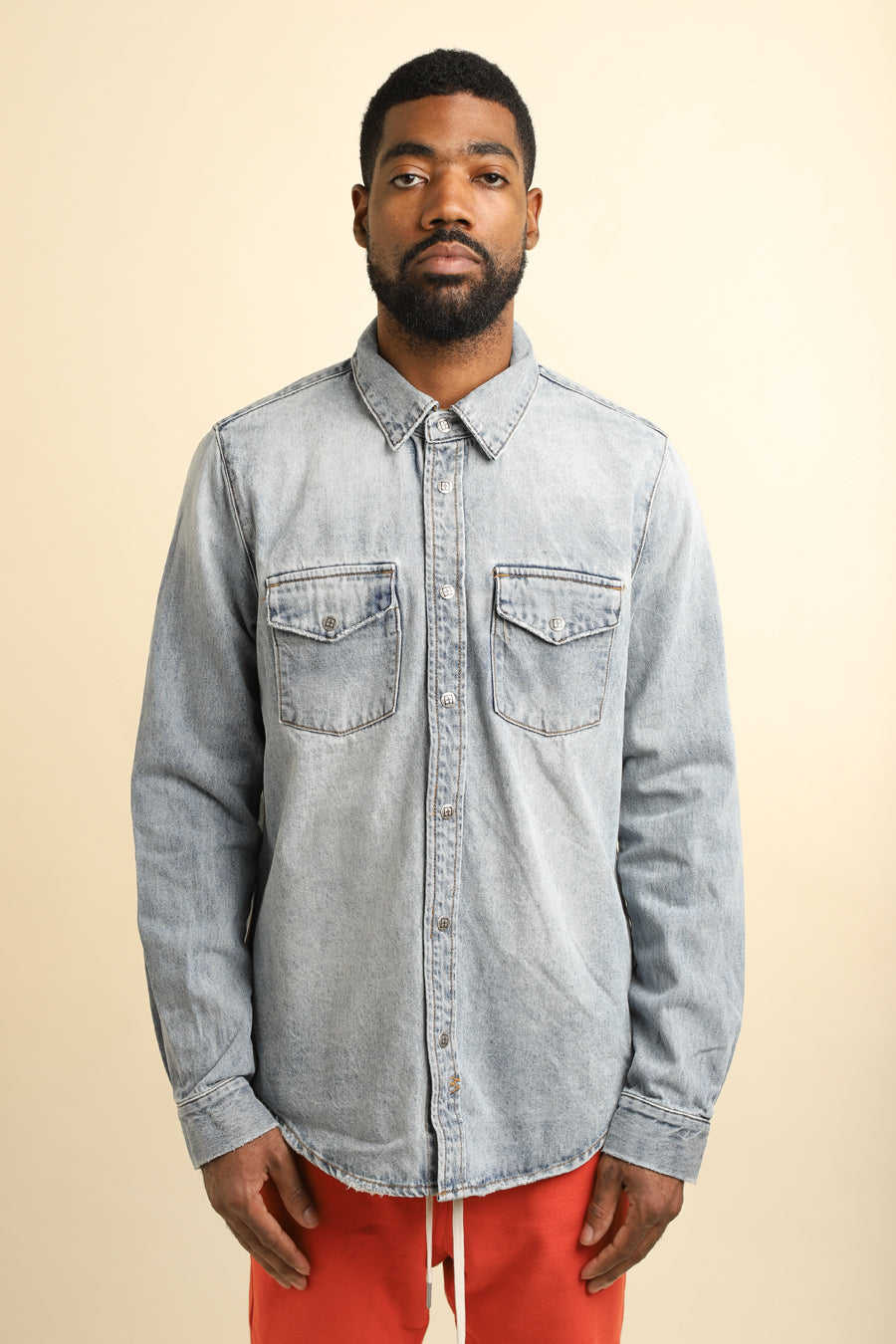 Ksubi - Blue Frontier Recharge Denim Shirt