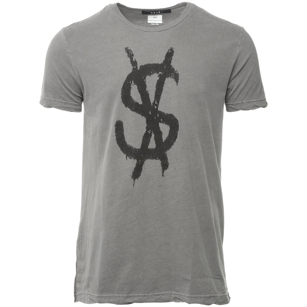 Grey Spray Dollar T-Shirt