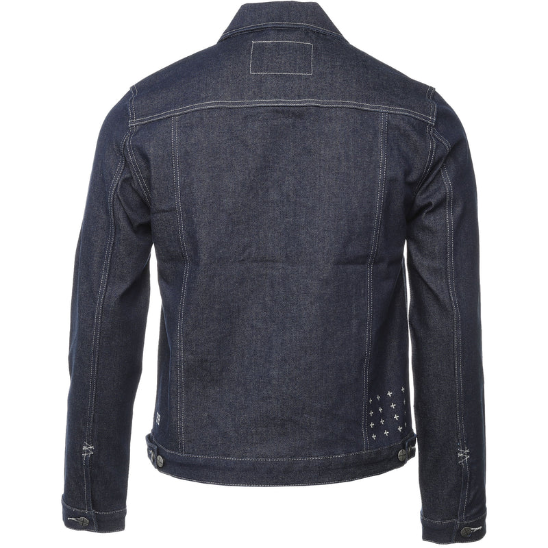 Indigo Raw Classic Roarr Denim Jacket