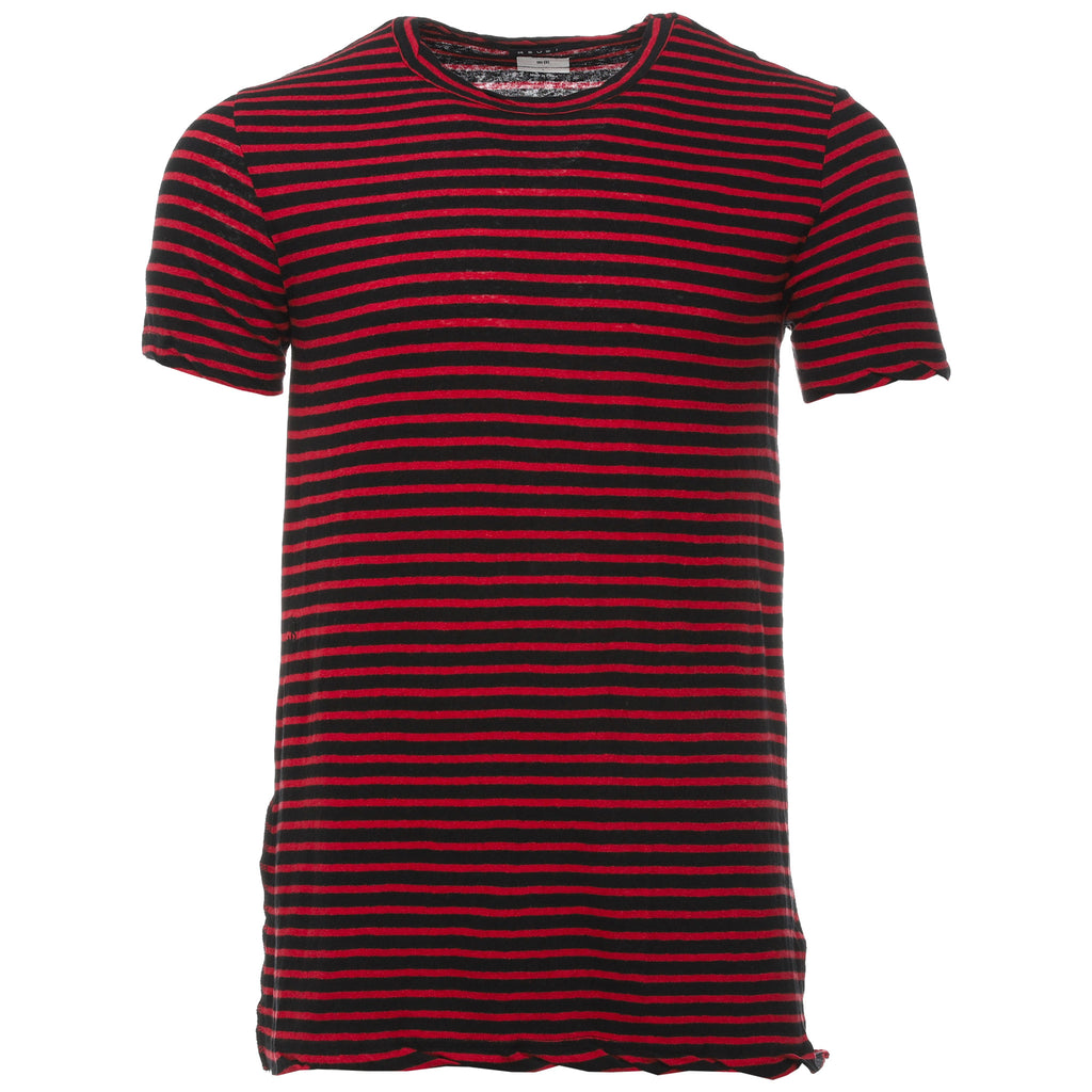 Red and Black Sinister Stripe T-Shirt