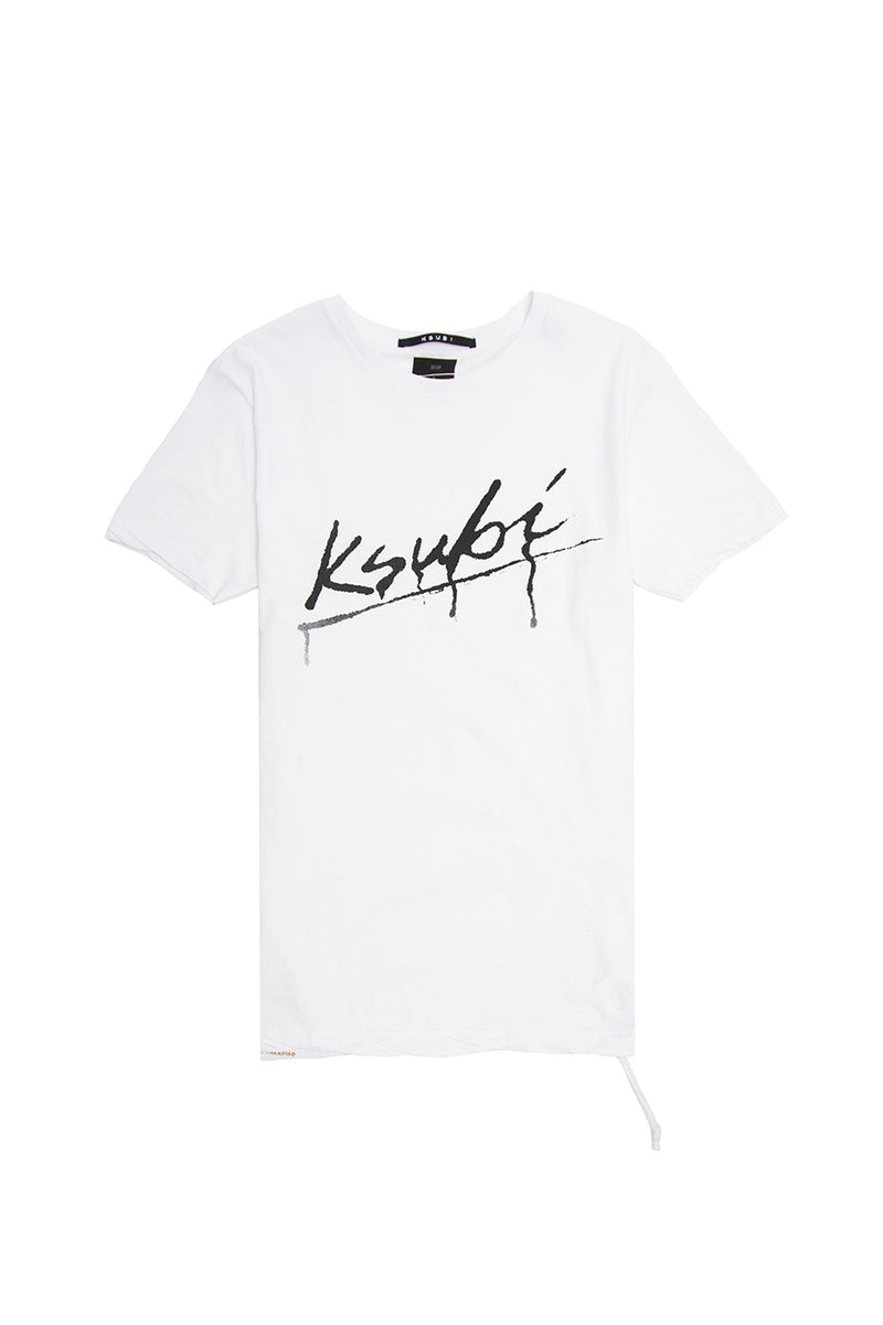 Ksubi - White Drip T-Shirt | 1032 SPACE
