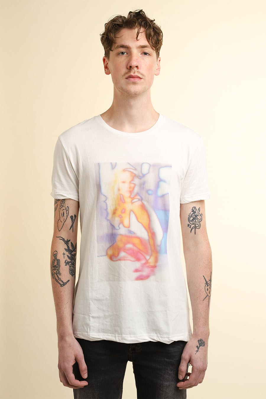 Ksubi - White Girls Worn In T-Shirt