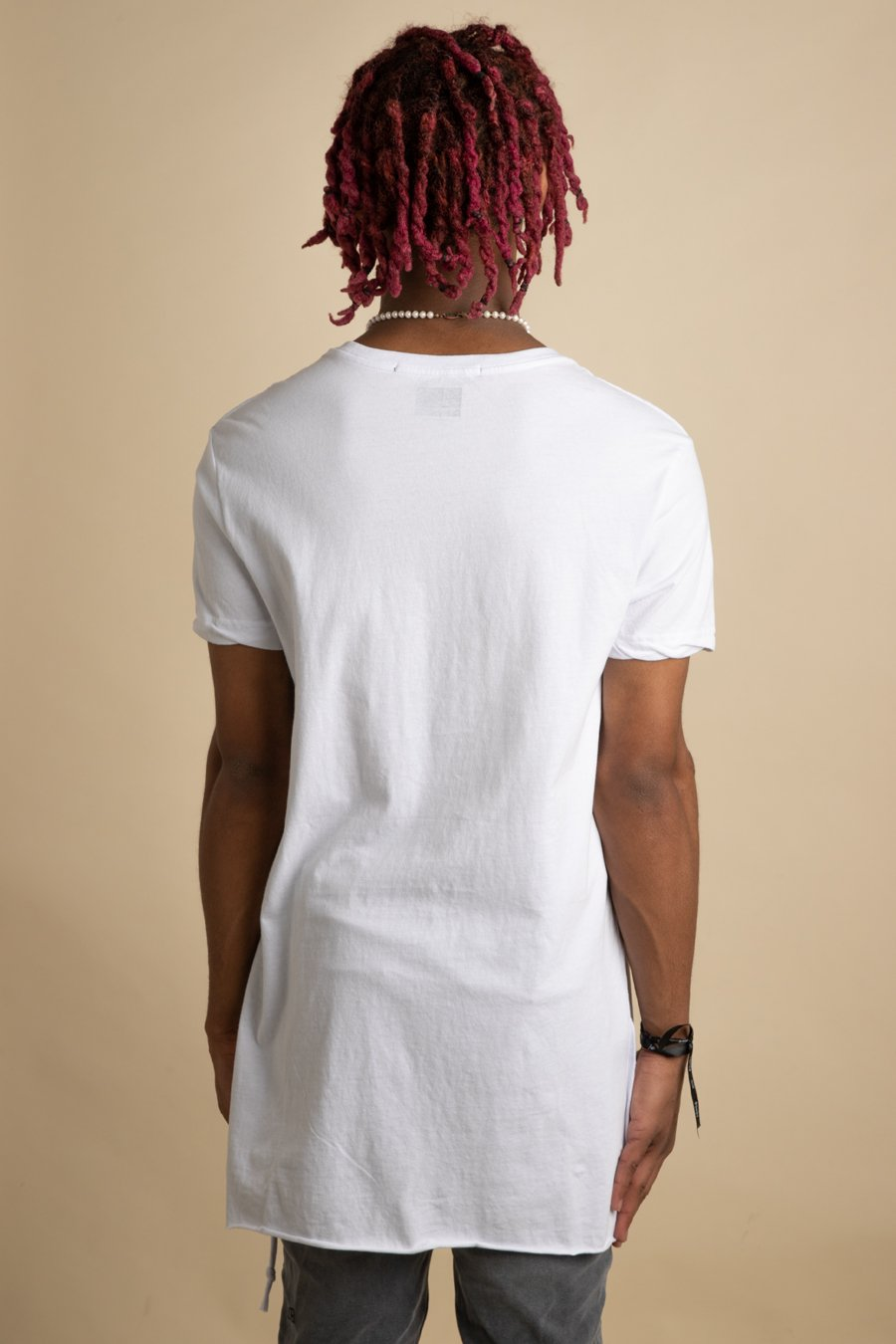 Ksubi - White Seeing Lines T-Shirt