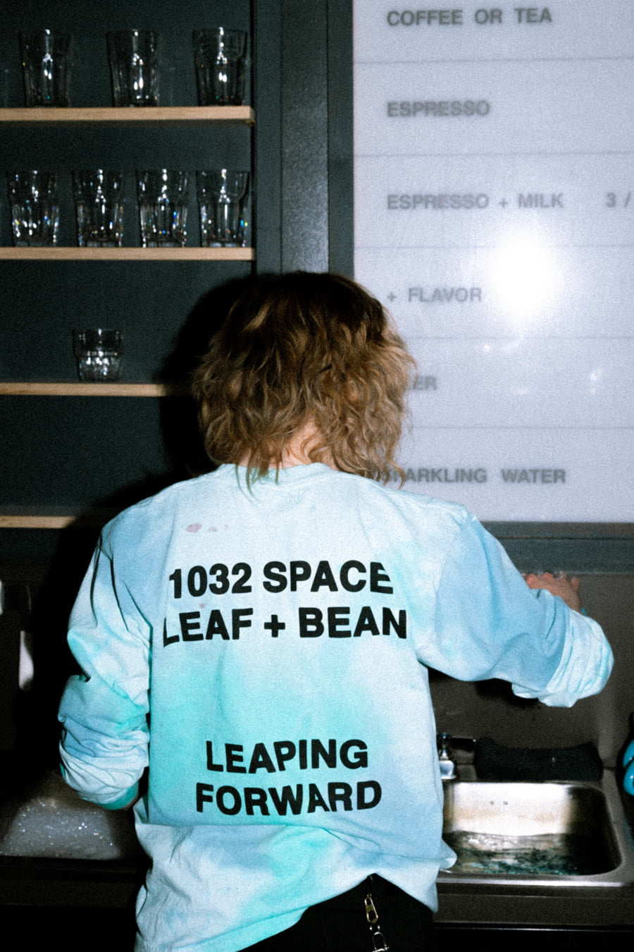 "1032 Space x Leaf+Bean ""Coffee Stain"" T-Shirt"