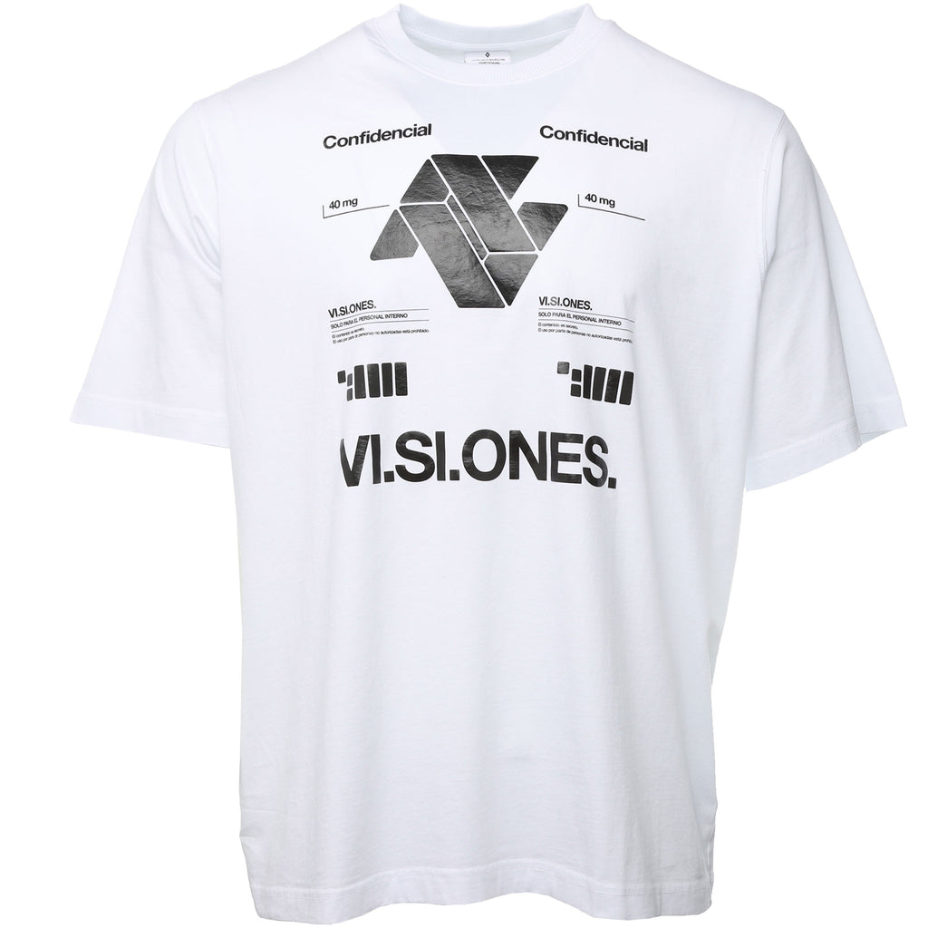 White VI.SI.ONES Oversized T-Shirt