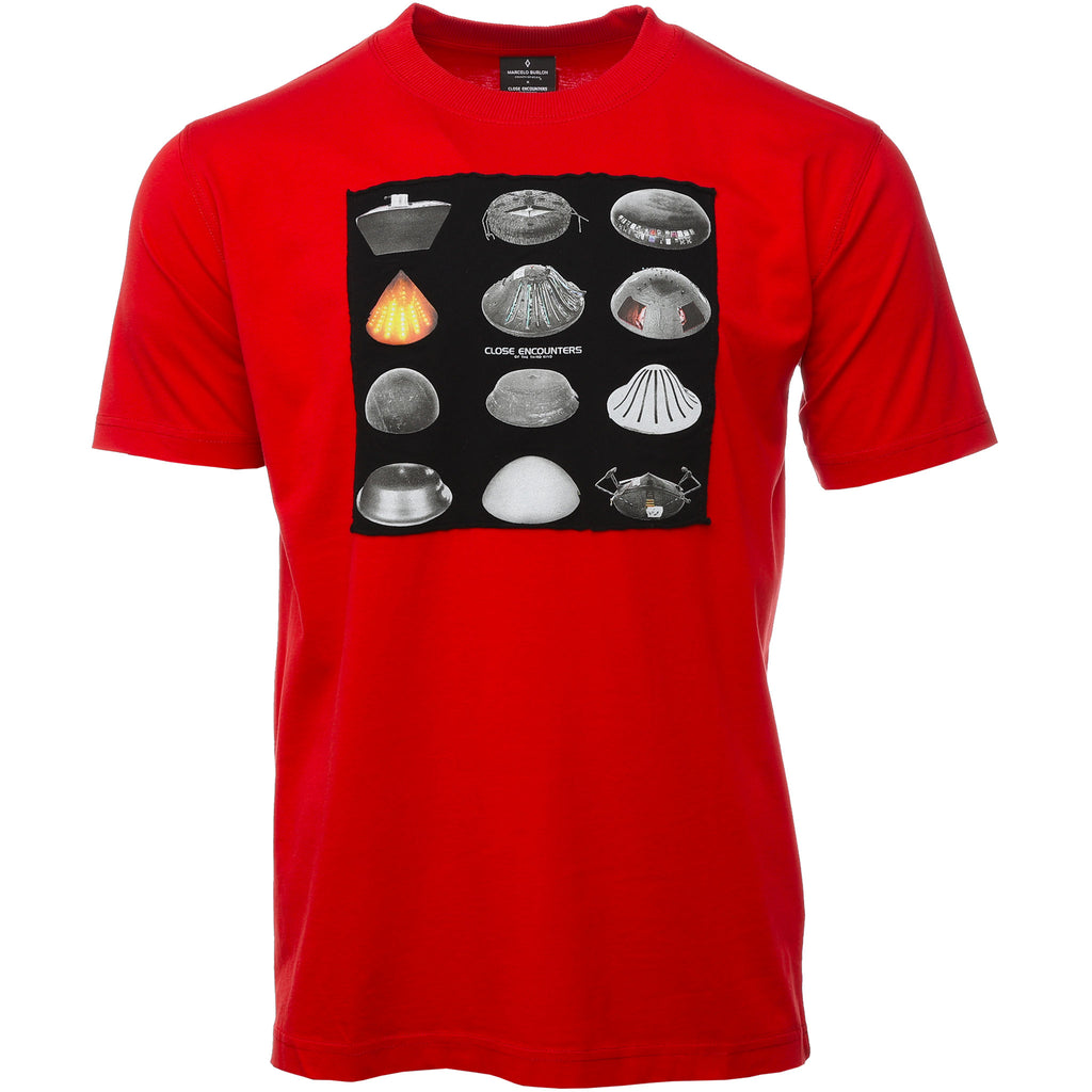Red C.E. Spaceships T-Shirt