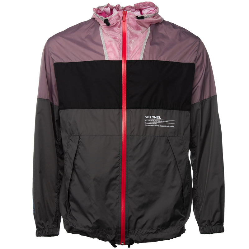 Multicolor Contaminacion Windbreaker