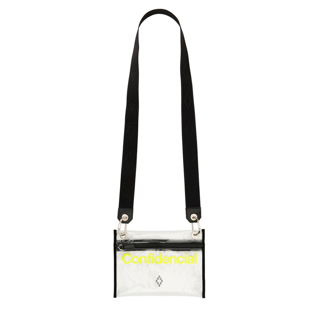 Marcelo Burlon County of Milan - Clear Contaminacion Zip Pouch