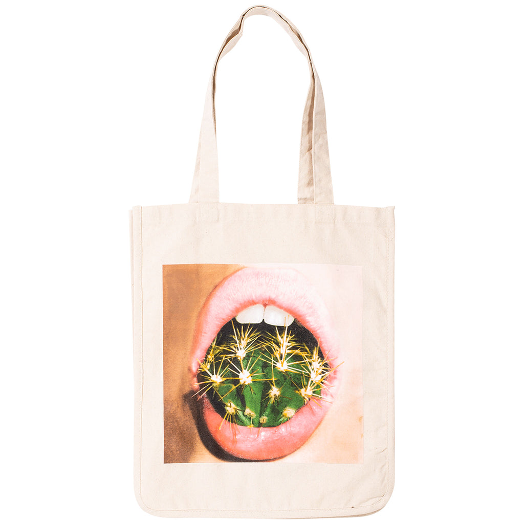 Natural White Prick Tote