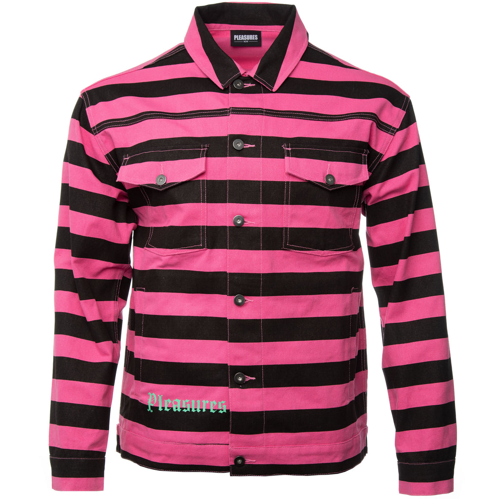 Pink and Black Diplomat Jacket