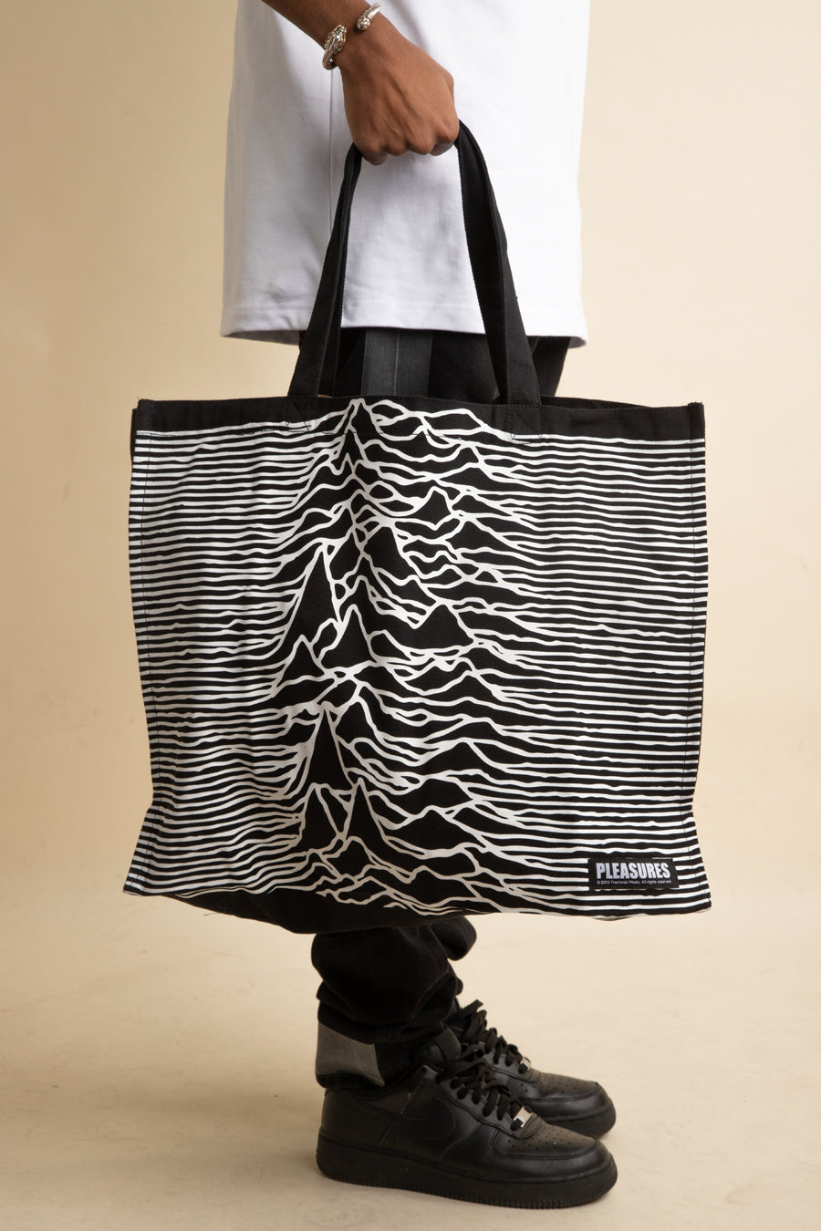 Pleasures x Joy Division - Black Wilderness Heavyweight Tote Bag