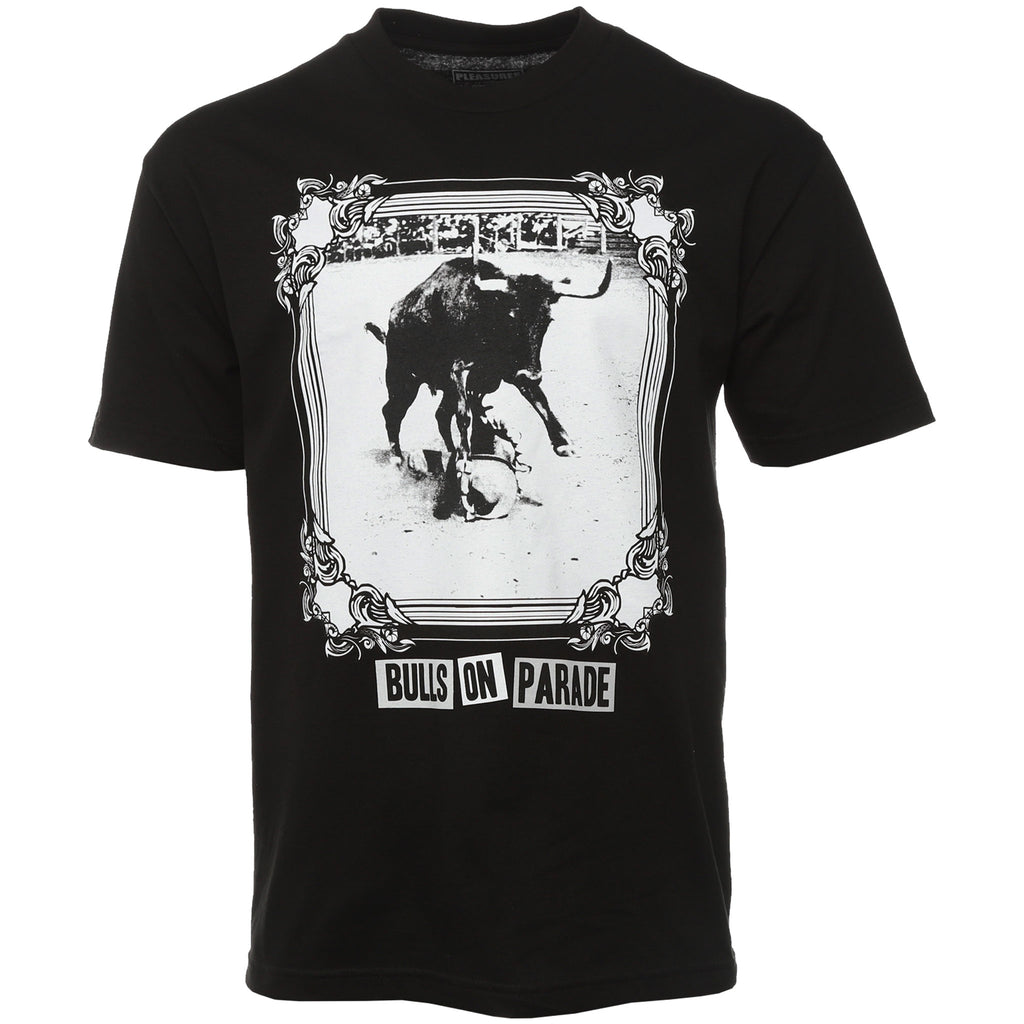 Pleasures - Black Bulls On Parade T-Shirt