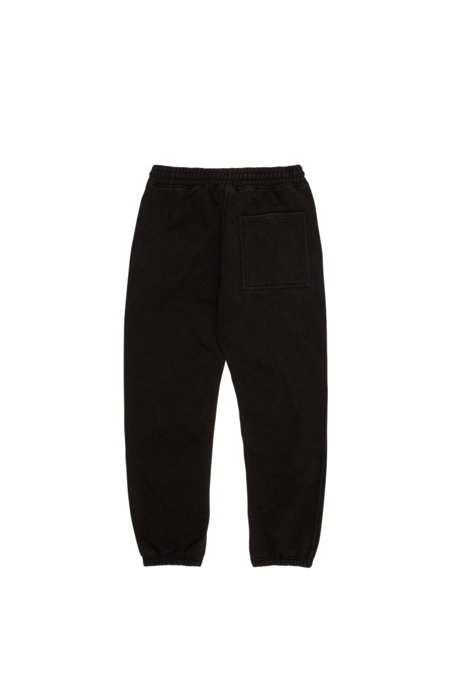Pleasures - Black Burnout Dyed Sweatpants | 1032 SPACE