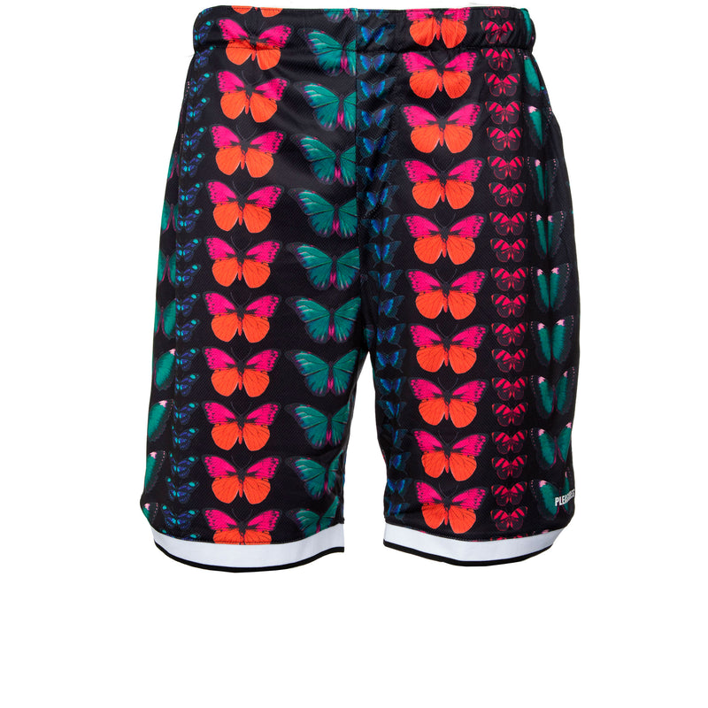 Black Butterfly Basketball Shorts