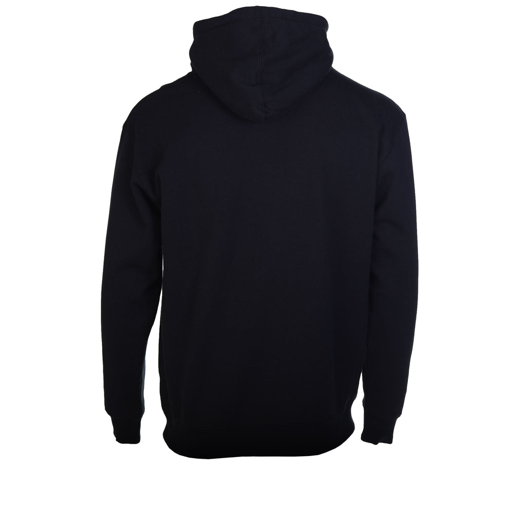 Pleasures Core Logo Hoodie Black Now Back