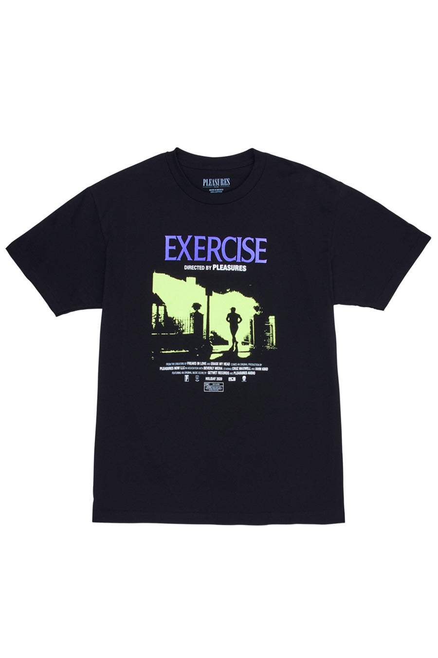 Pleasures - Black Exercise T-Shirt
