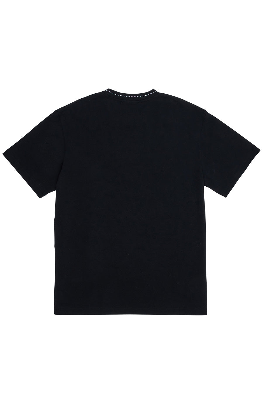 "Pleasures - Black ""Cut Here"" Heavyweight T-Shirt"