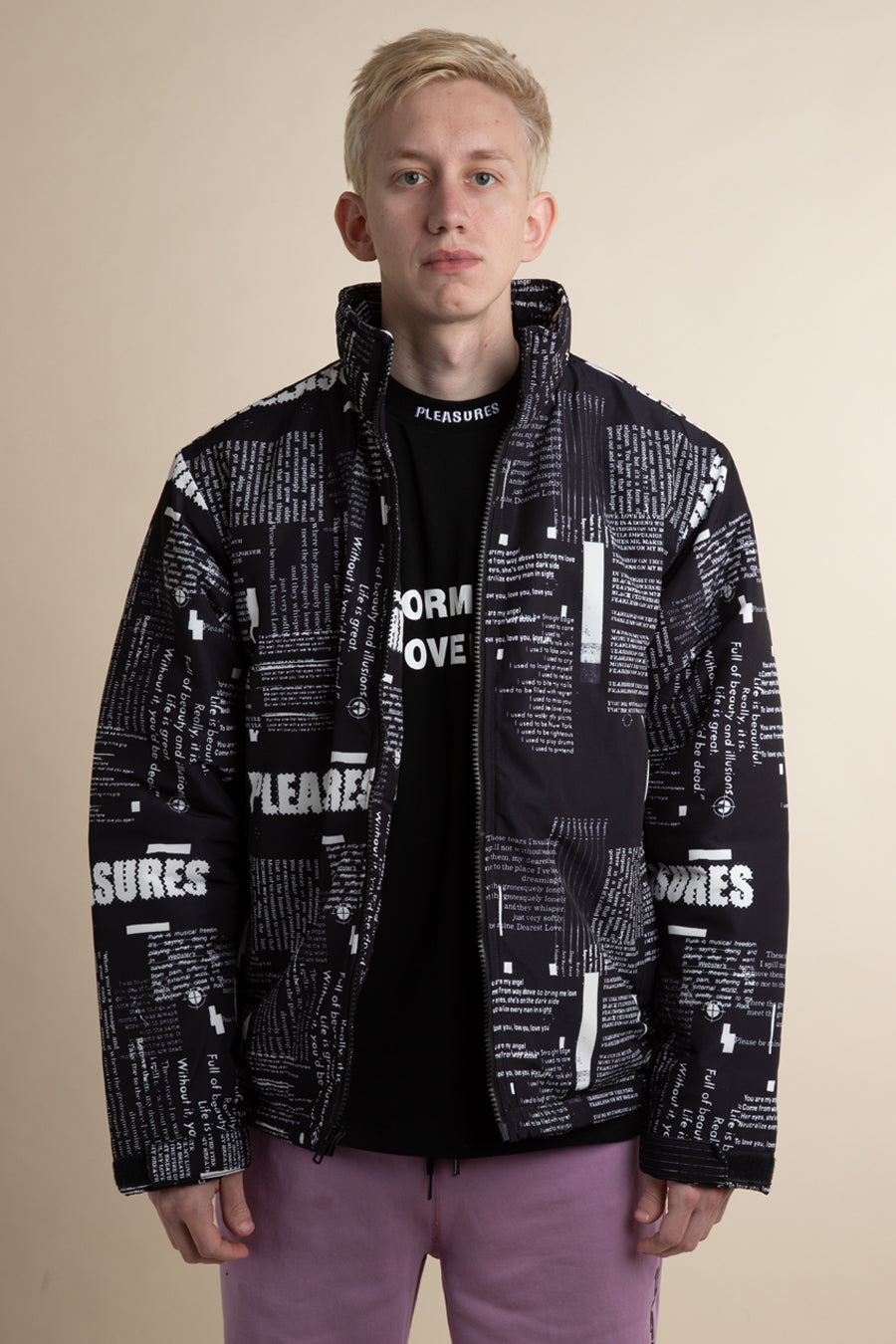 Pleasures - Poems Puffer Coat