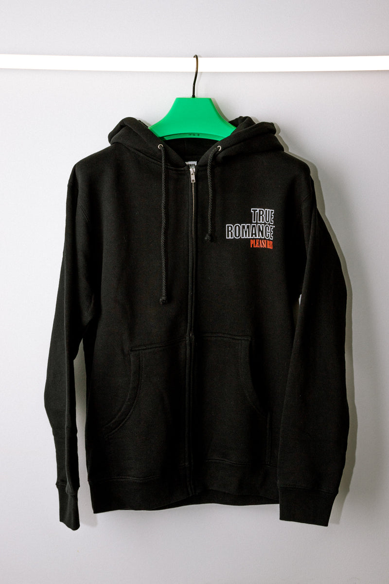 Black Sicilian Zip Up Hoodie