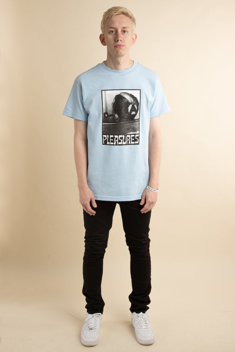 Blue Haircut T-Shirt
