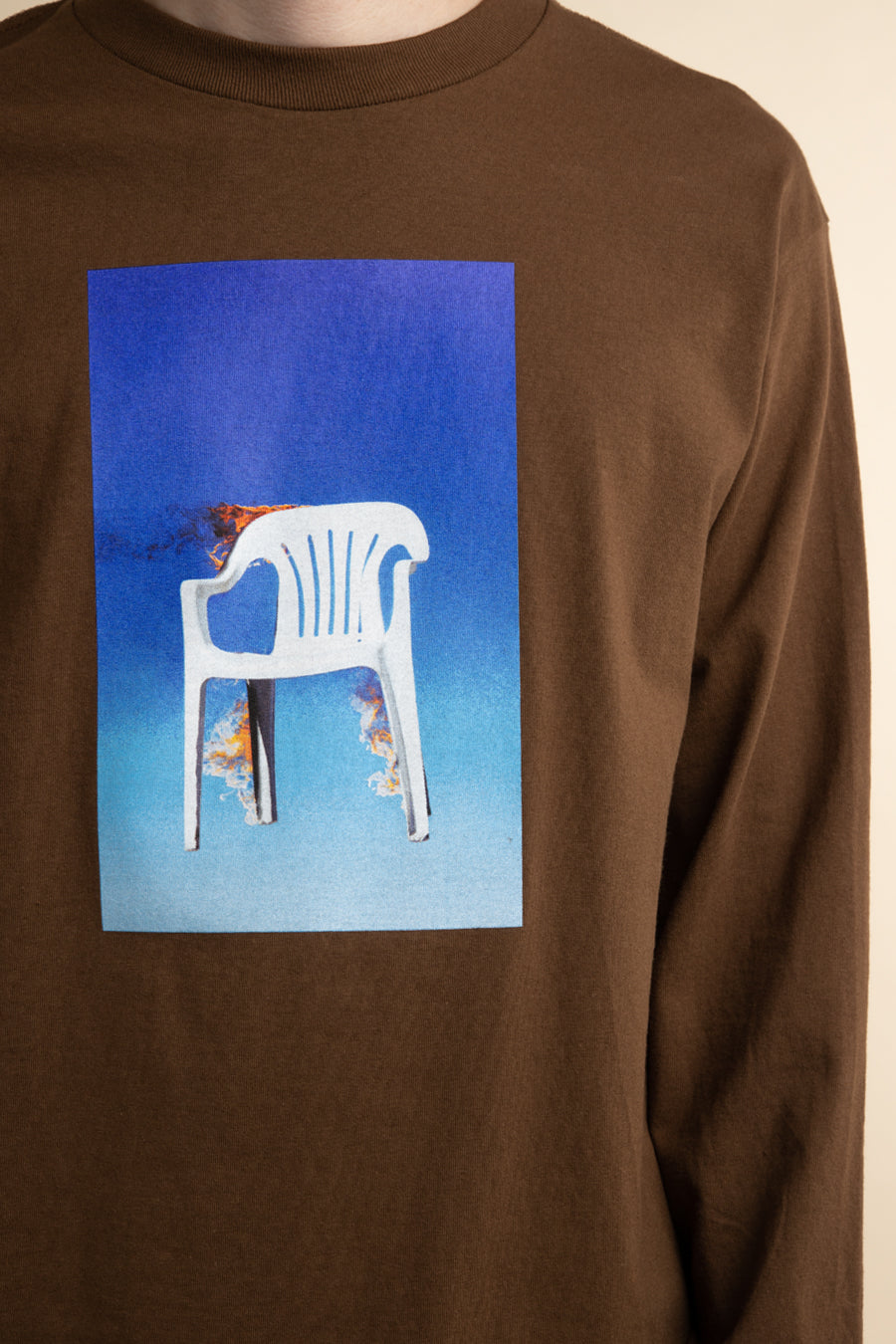 Pleasures - Brown Chair Long Sleeve T-Shirt