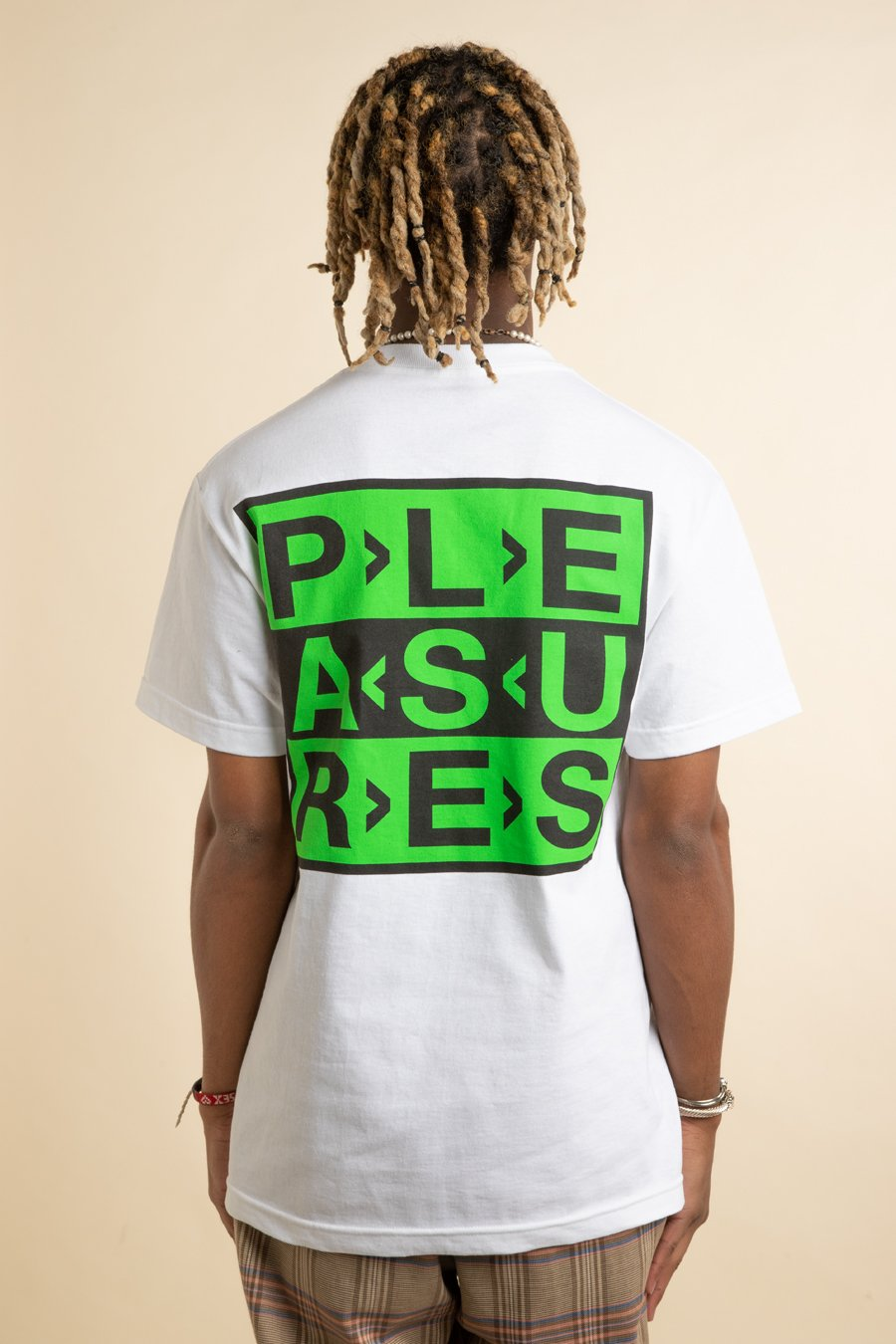 Pleasures - White Fragile Logo T-Shirt