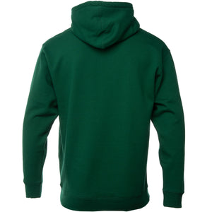 Green Core Logo Embroidered Hoodie