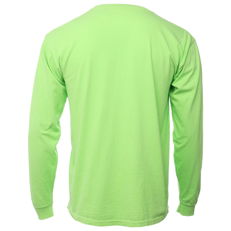 Green Give Me Space Pocket Long Sleeve T-Shirt