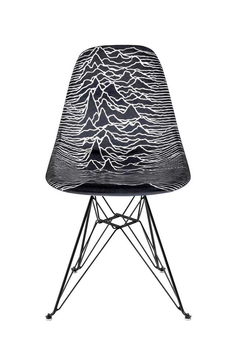 Pleasures x Modernica - Black Unknown Pleasures Modernica Shell Chair