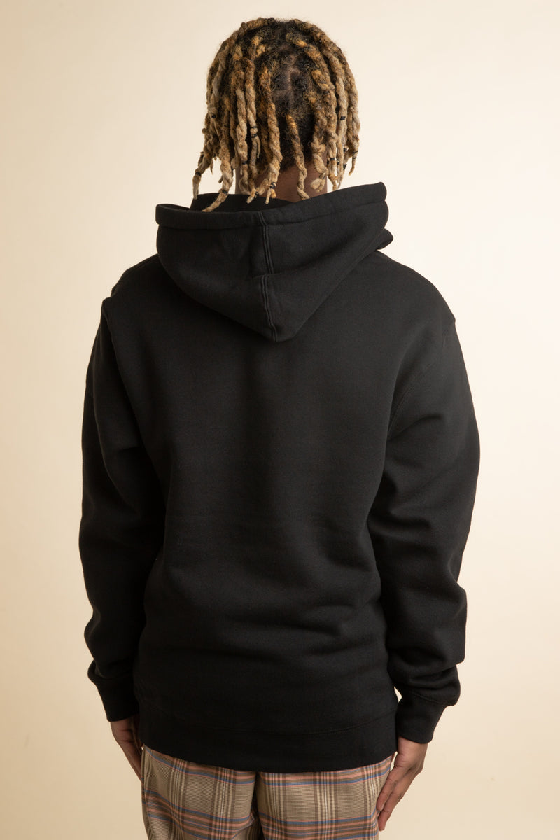 Black Mouth Off Hoodie