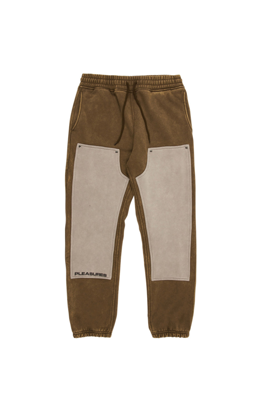 Pleasures - Olive Burnout Dyed Sweatpants | 1032 SPACE