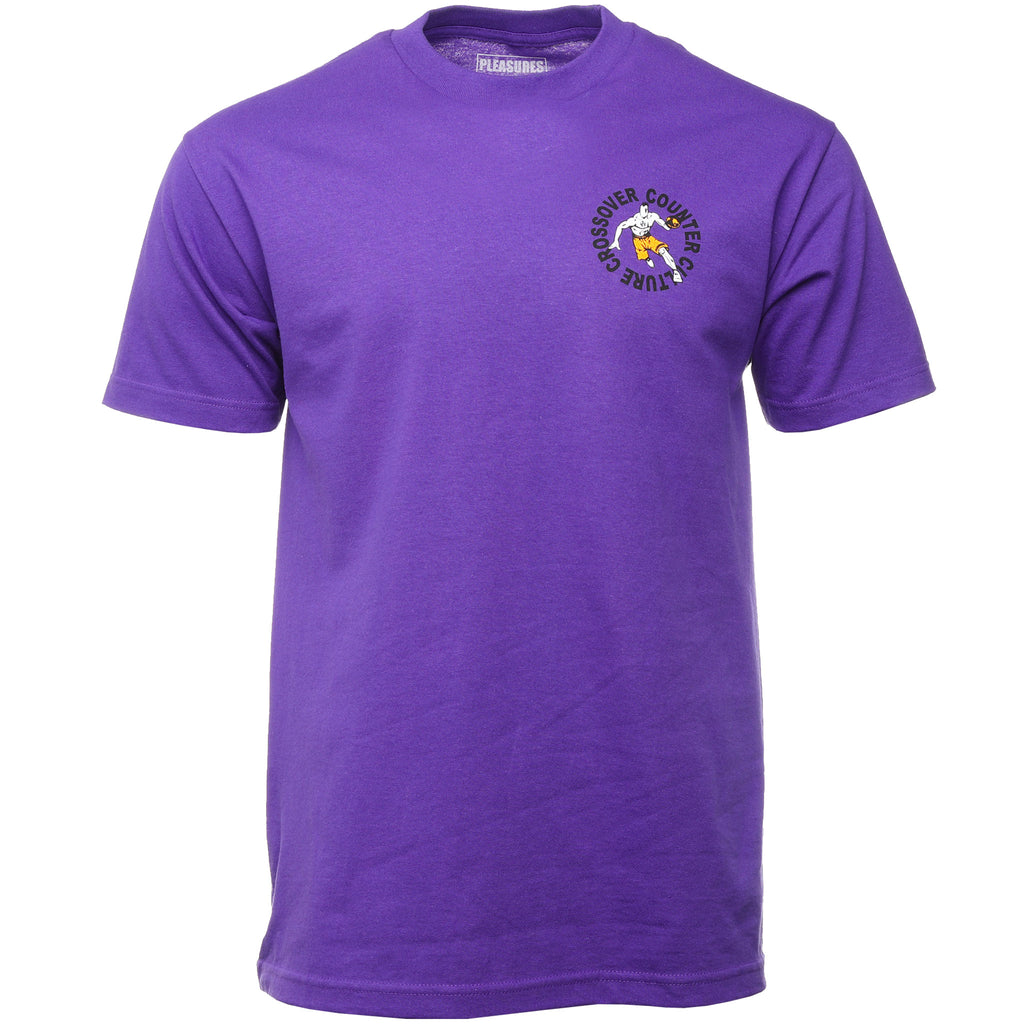 Purple Crossover T-Shirt