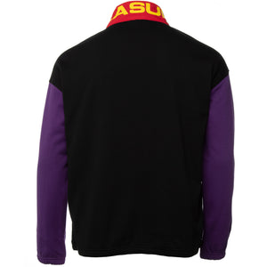 Purple and Black Misfit Half Zip