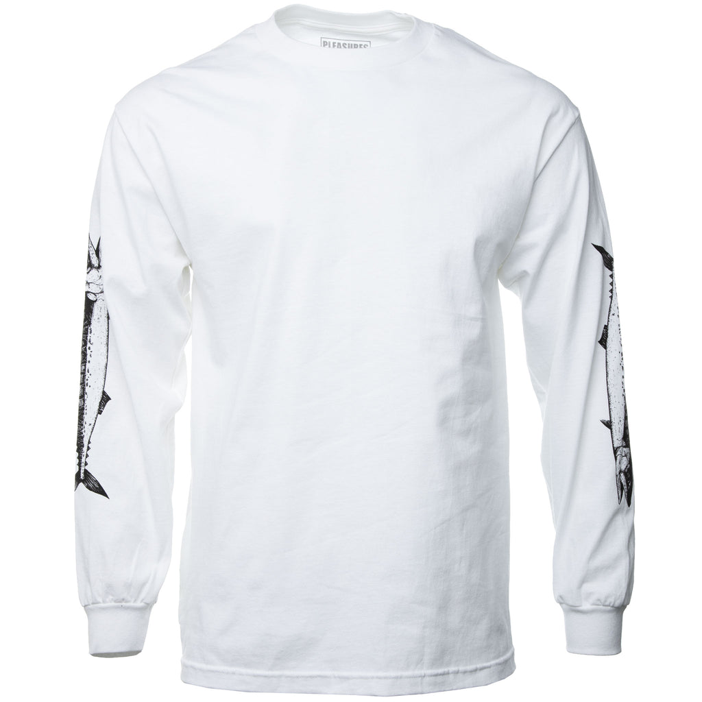 White Catch Long Sleeve T-Shirt