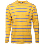 Yellow Scream Striped Long Sleeve T-Shirt