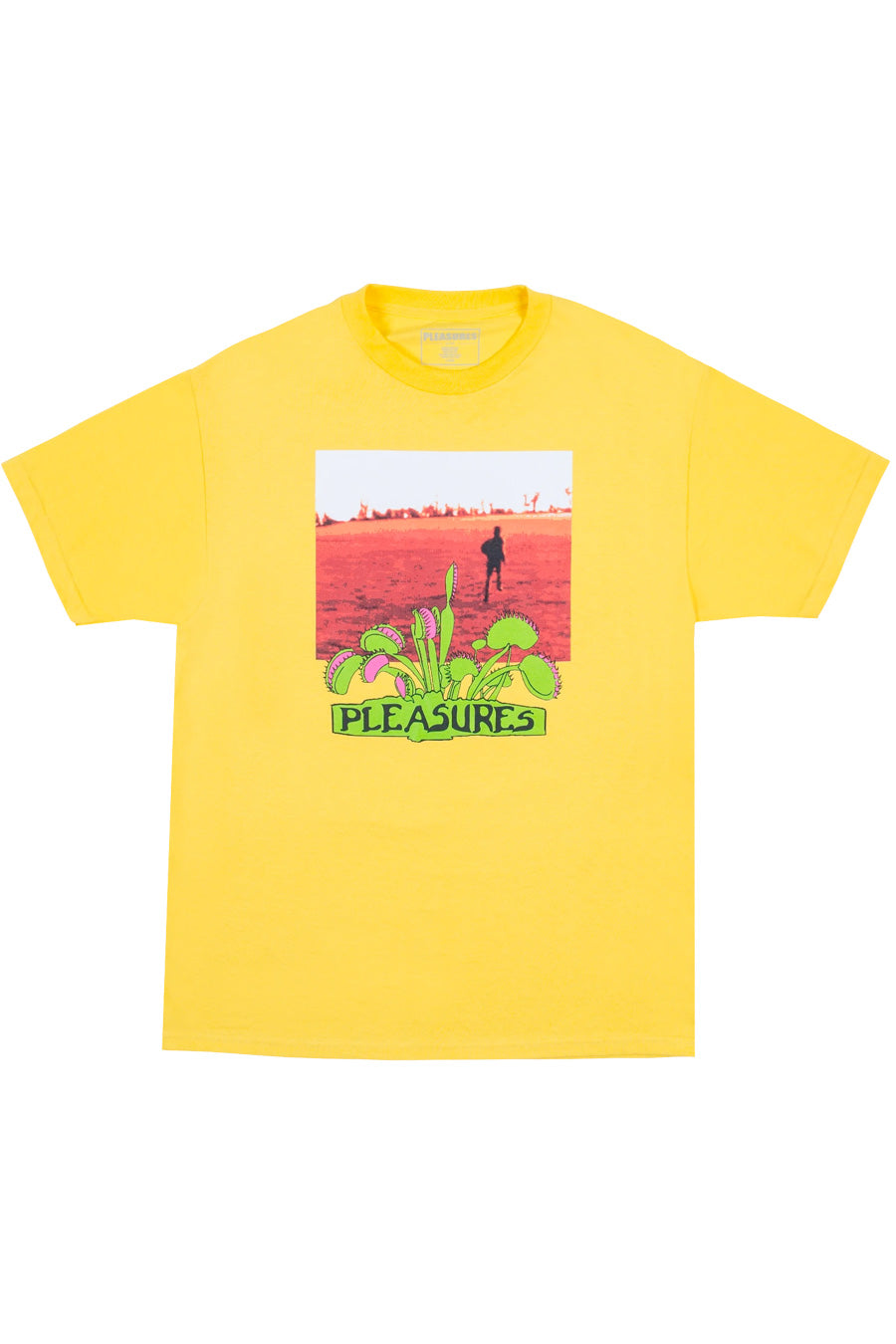Pleasures - Yellow Trapped T-Shirt