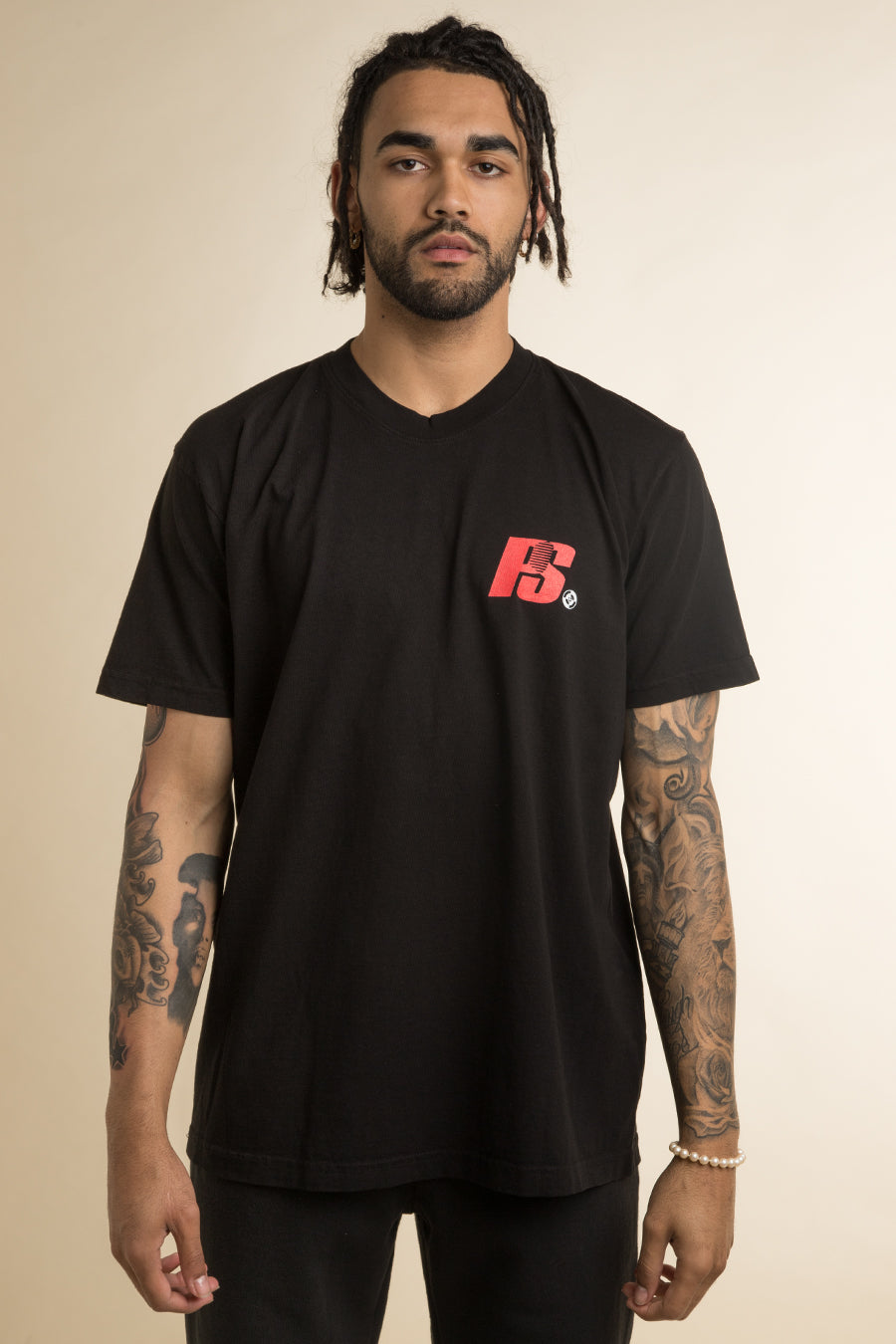 Powers Supply - Black Kilroy Logo T-Shirt