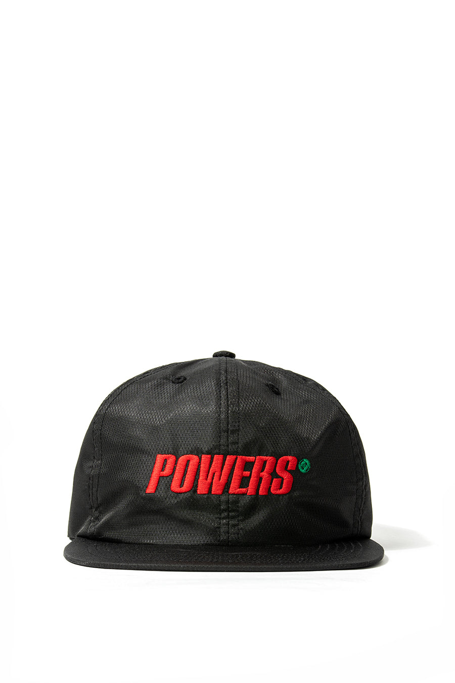 Powers Supply - Black Spellout Diamond Ripstop Hat