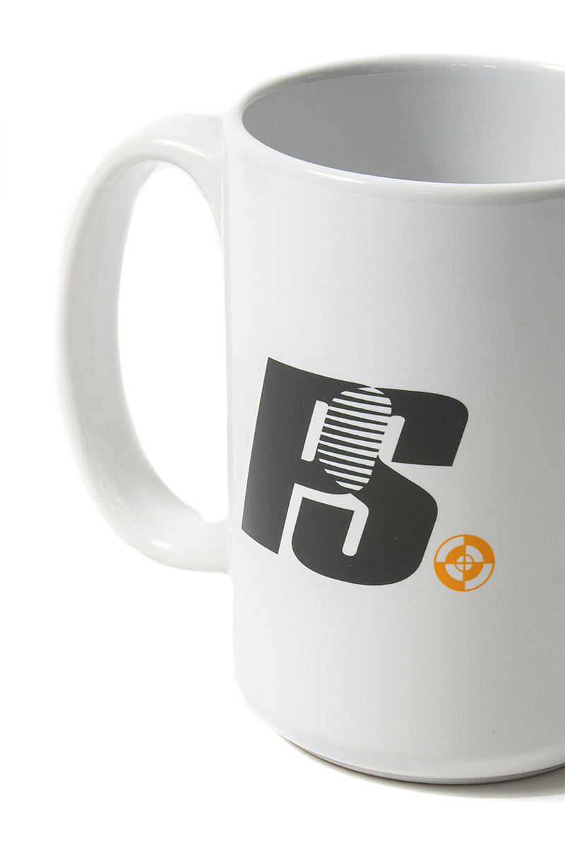Powers Supply - White Who Me? Mug