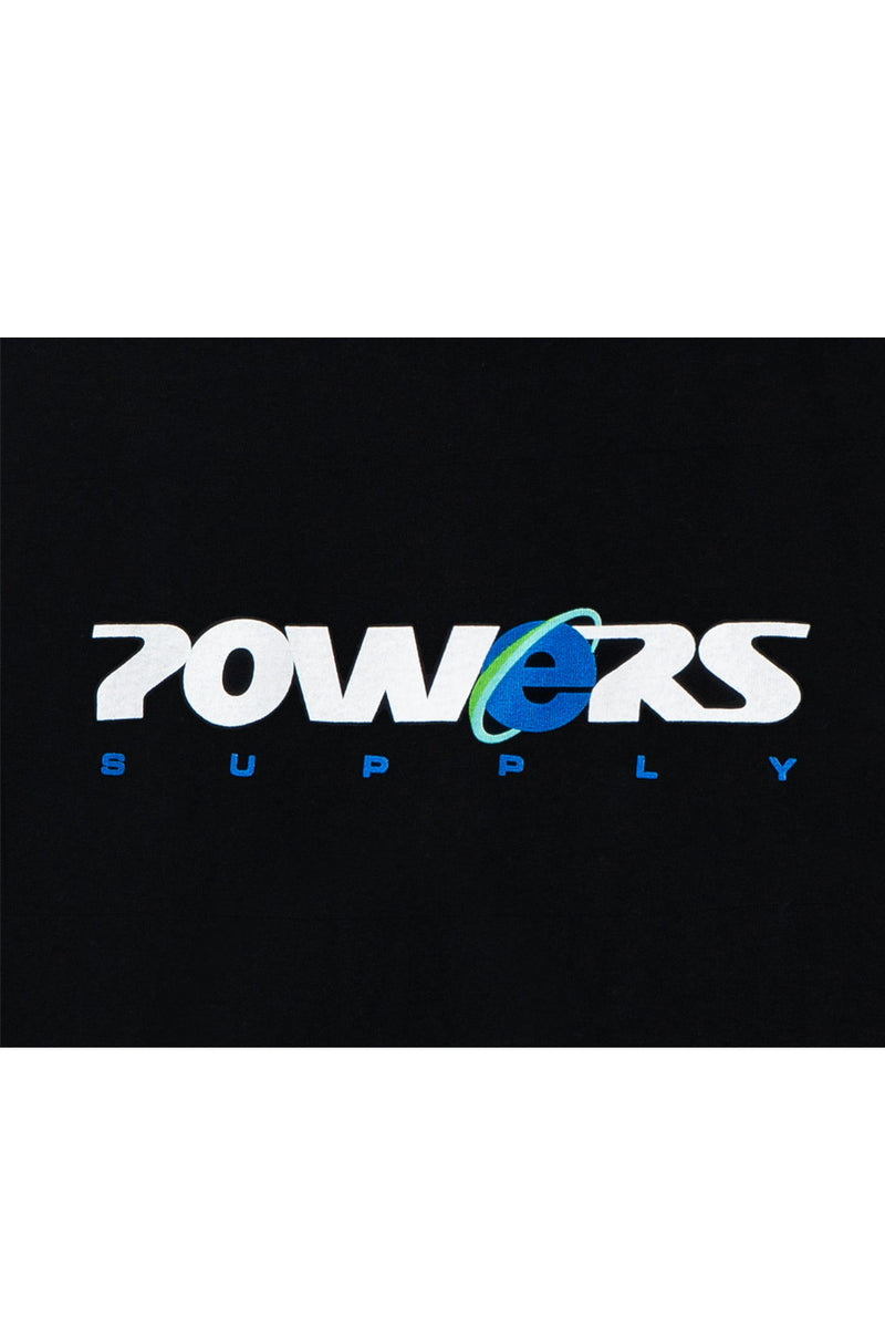 Powers Supply - Black Explorer T-Shirt | 1032 SPACE