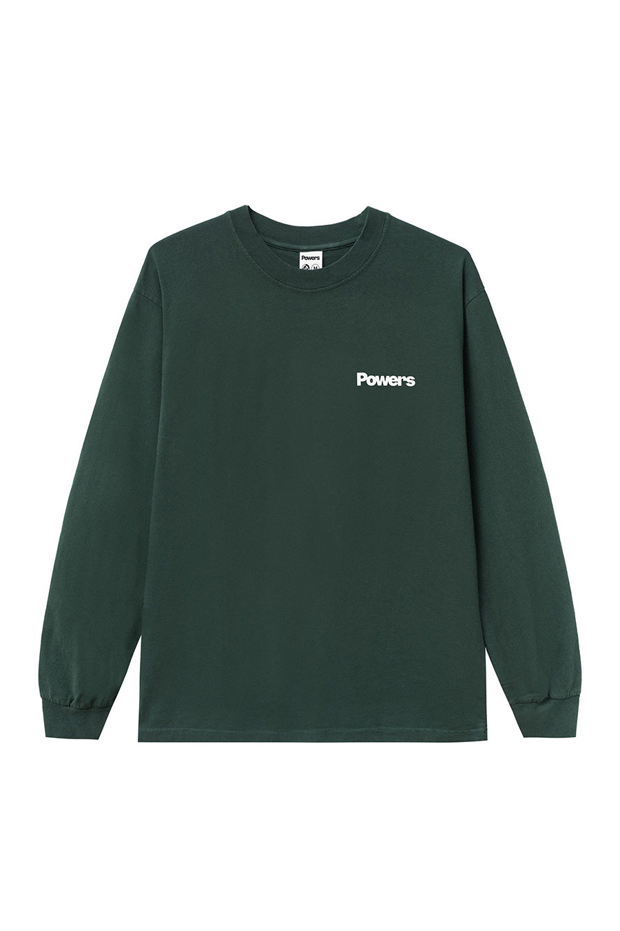 Powers Supply - Green Get a Grip Shop Long Sleeve T-Shirt | 1032 SPACE