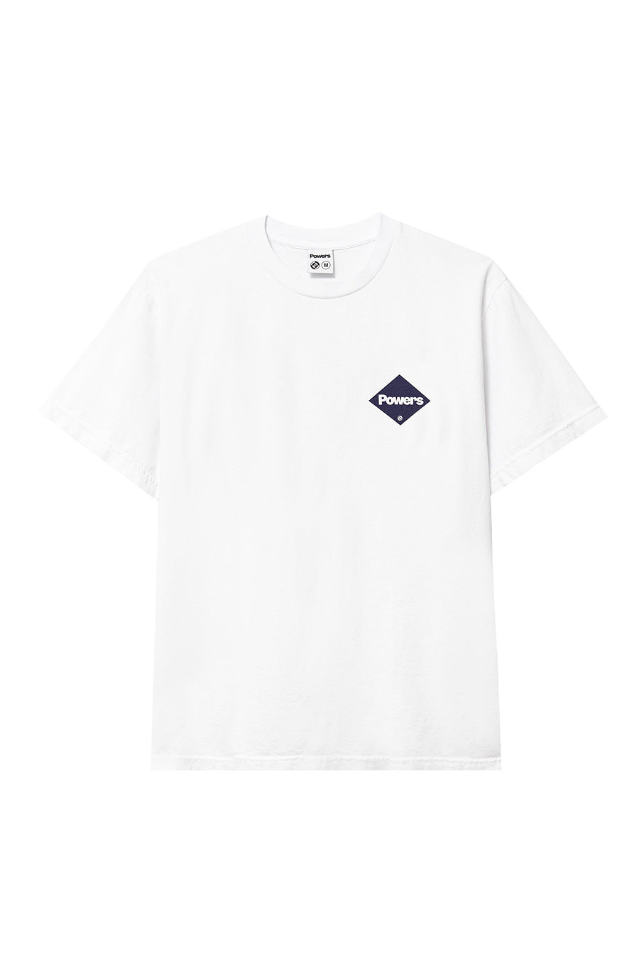 Powers Supply - White Diamond Logo T-Shirt | 1032 SPACE