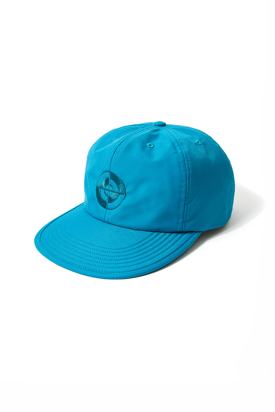 Powers Supply - Teal Target Tech Nylon Hat