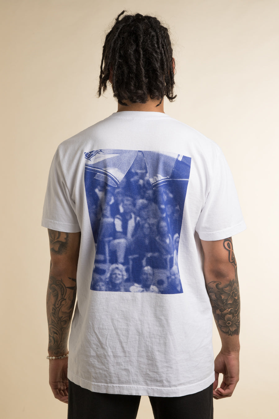Powers Supply - White Dunk T-Shirt
