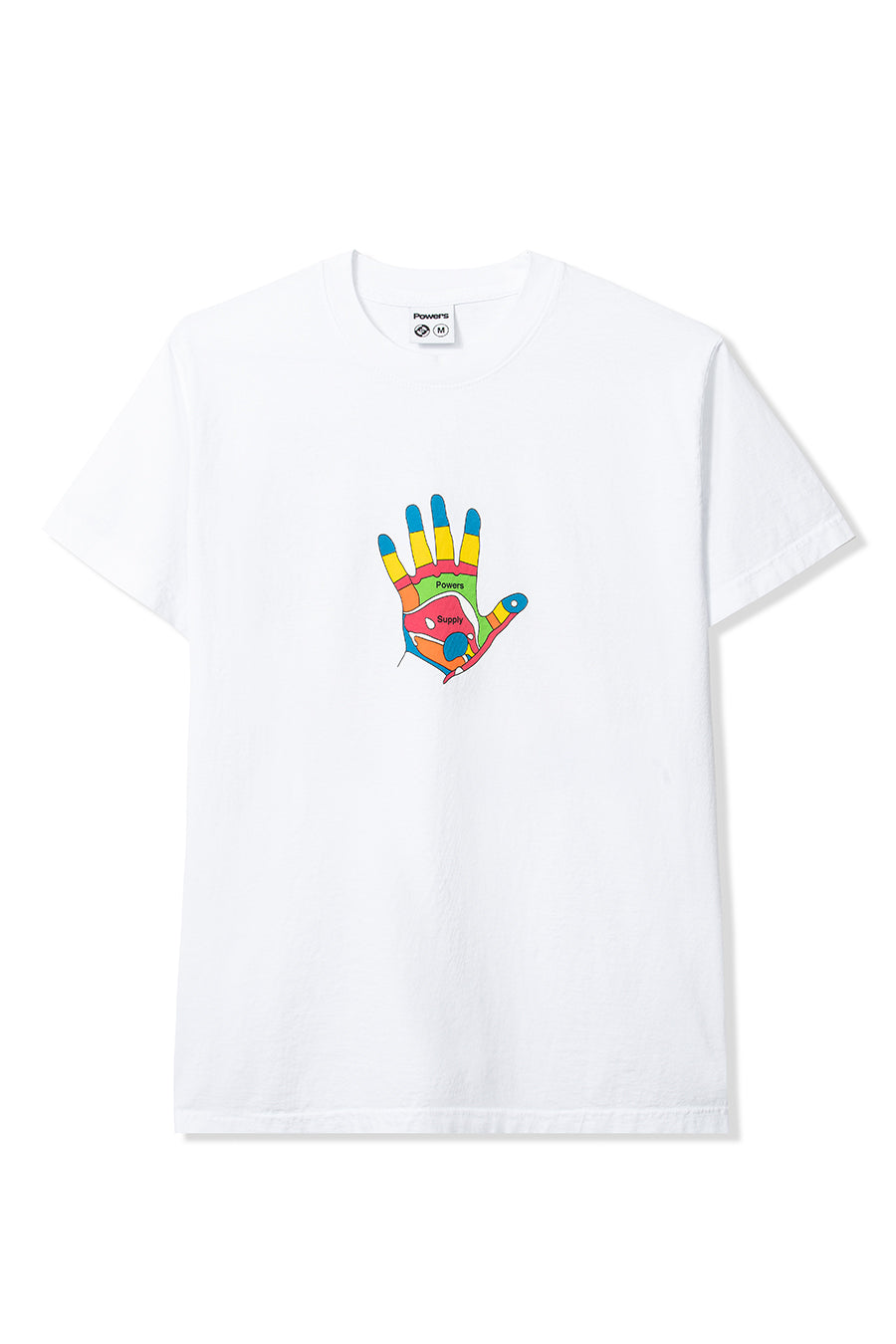 Powers Supply - White Reflexology T-Shirt