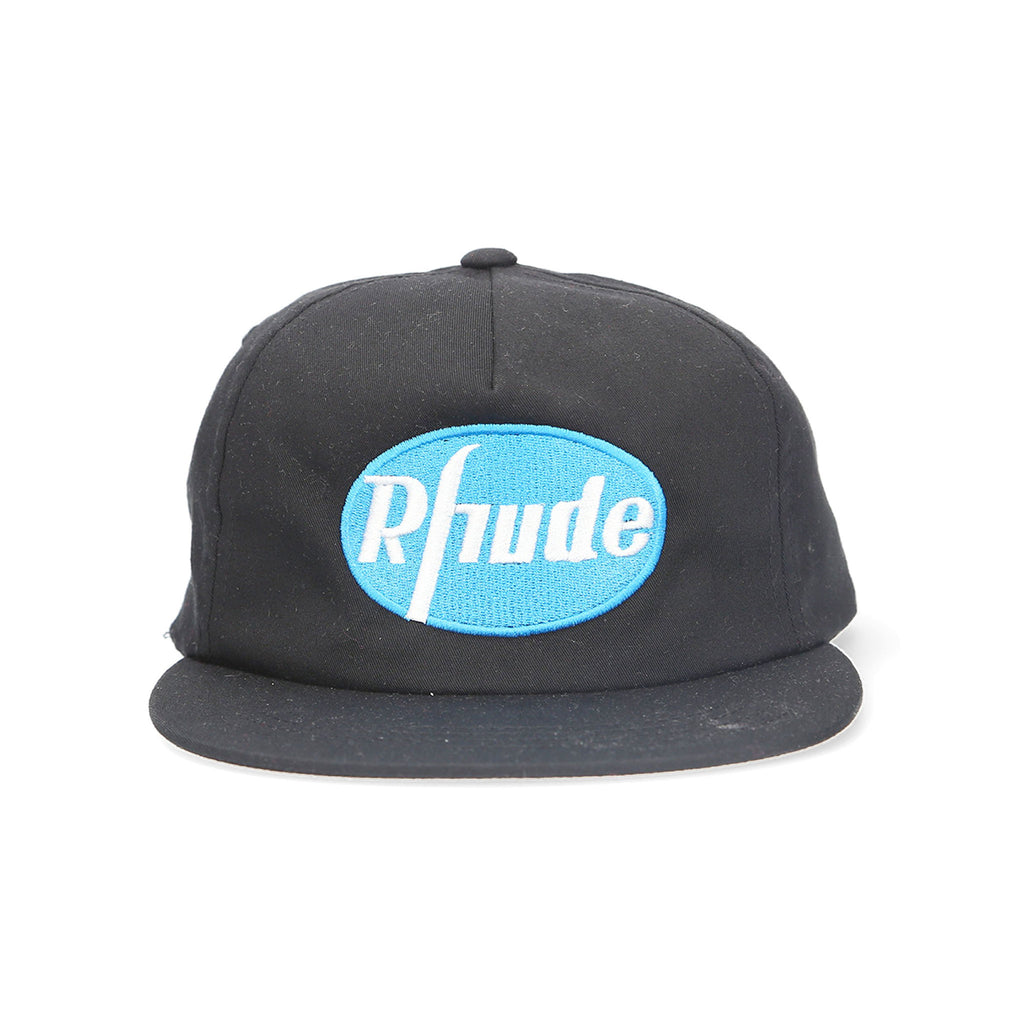 Rhude - Black Logo Pharma Hat