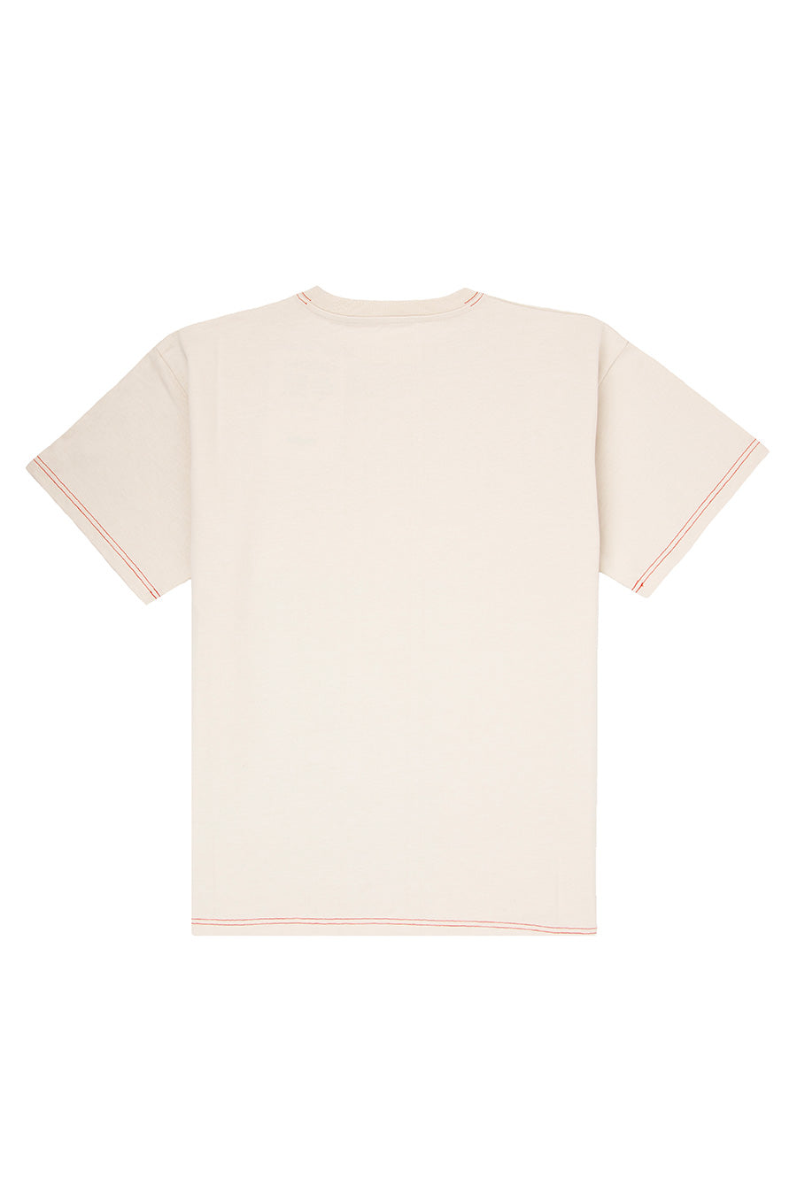 Rassvet - Beige Men's T-Shirt | 1032 SPACE
