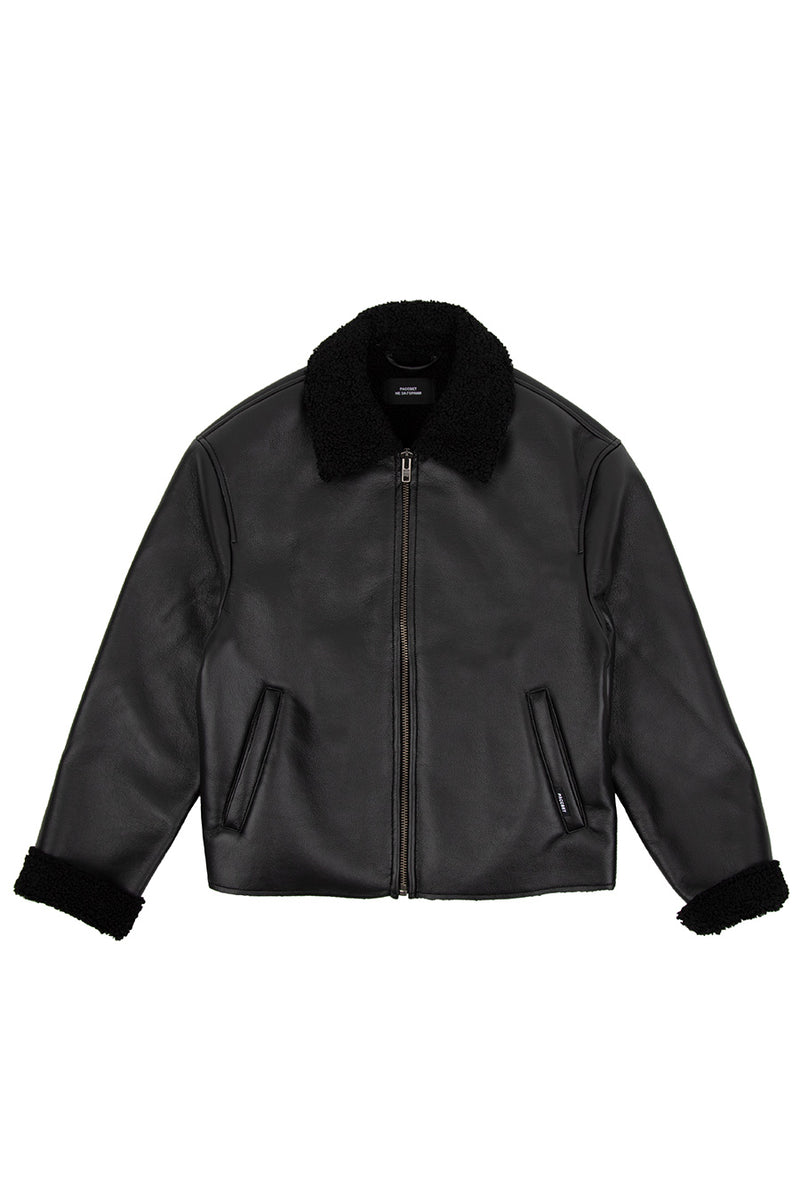 Rassvet - Black Men's Jacket | 1032 SPACE