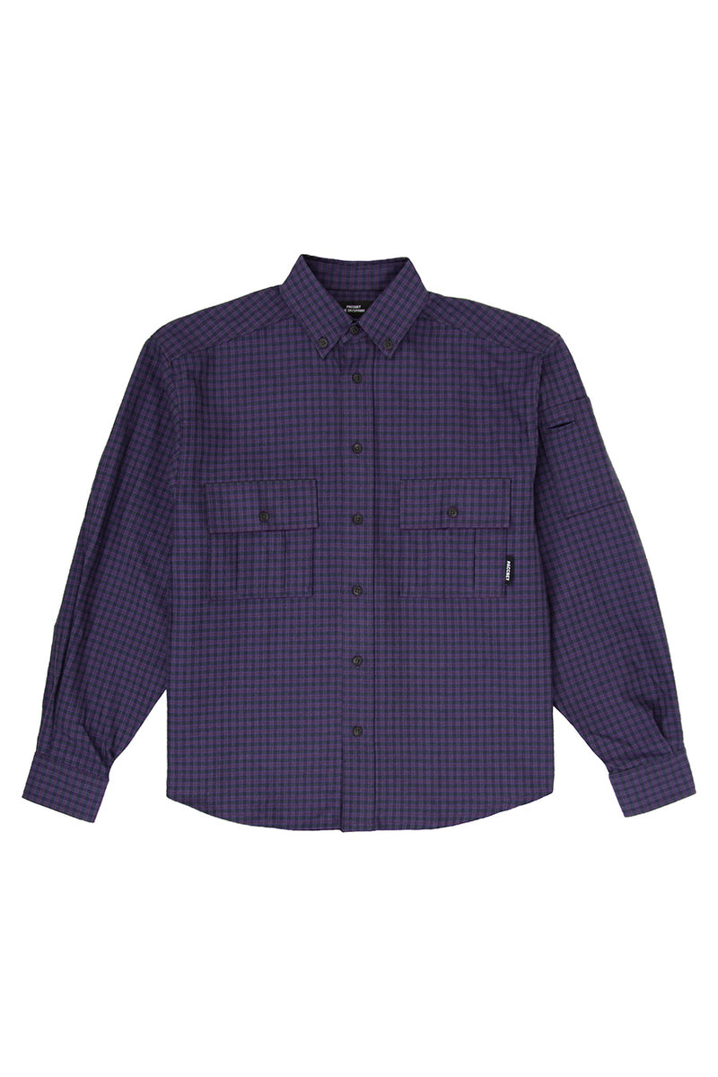 Rassvet - Purple Men's Shirt | 1032 SPACE