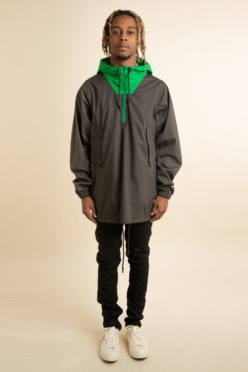 Real Bad Man - Green Jungletime Anorak